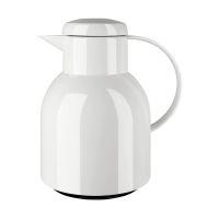 Bild Samba Isolierkanne - 1,0 Liter, weiß hochglanz