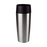 Bild Travel Mug Isolierbecher - 0,36 Liter, Edelstahl/schwarz gebürstet