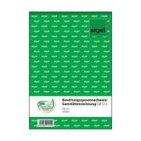 Bild Bewirtungsspesennachweis/Gaststättenrechnung - A5, 2seitig bedruckt, MP, 50 Blatt