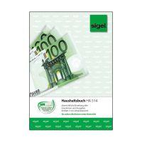 Bild Haushaltsbuch mit Klammerheftung - A5, 40 Blatt