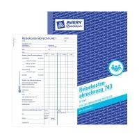 Bild 743 Reisekostenabrechnung, DIN A5, für Abrechnung pro Reise, 50 Blatt, weiß