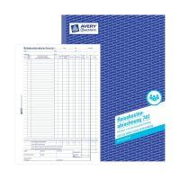 Bild 741 Reisekostenabrechnung, DIN A4, für monatliche Abrechnung, 50 Blatt, weiß