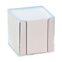 Bild Notizboxen - glasklar, ca. 700 Blatt - weiß, lose