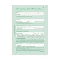 Bild Arbeitsvertrag geringfügig Beschäftigte - SD, 2x2 Blatt + Zusatzblatt, DIN A4