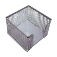 Bild Zettelbox Metalldraht - silber