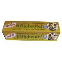 Bild Biofolienbeutel - 18 Liter, grün, 6 Stück