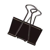 Bild Foldback-Klammern - 51 mm, Klemmvolumen 28 mm, schwarz, 10 Stück