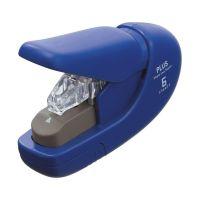 Bild Heftgerät klammerlos - blau, bis 5 Blatt