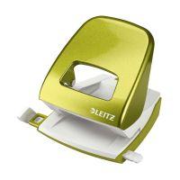 Bild 5008 Bürolocher NeXXt, Metall, 30 Blatt, grün metallic