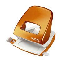 Bild 5008 Bürolocher NeXXt, Metall, 30 Blatt, orange metallic