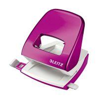 Bild 5008 Bürolocher NeXXt, Metall, 30 Blatt, pink metallic