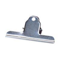 Bild Briefklemmer Metall lackiert - 100 mm, Klemmvolumen 30 mm, vernickelt, 10 Stück