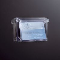 Bild Outdoor-Visitenkartenhalter acrylic - 96x60 mm, 60 Karten, glasklar