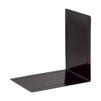 Bild Buchstütze Registraturstützen, metall, 168 x 240 x 240 mm, schwarz