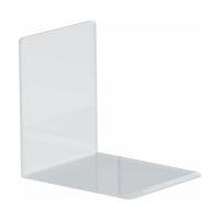 Bild Buchstütze Acryl, 100 x 130 x 100 mm, glasklar, Pack mit 2 Stück