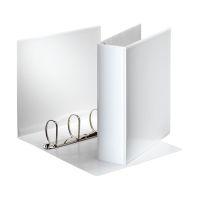 Bild Ringbuch Präsentation, mit Taschen, A4, PP, 4 Ringe, 60 mm, weiß