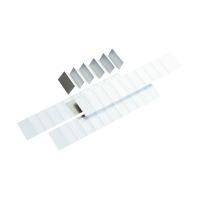 Bild Blanko-Schildchen für Varioreiter - 60 mm, 250 Stück