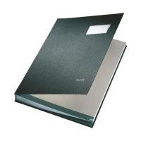 Bild 5700 Unterschriftsmappe - 20 Fächer, PP kaschiert, schwarz