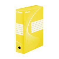 Bild Archiv-Schachtel - DIN A4, Rückenbreite 10 cm, gelb