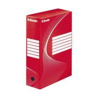 Bild Archiv-Schachtel - DIN A4, Rückenbreite 10 cm, rot