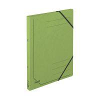 Bild Ringbuch Colorspankarton - A4, 2-Ring, Gummizug, grün