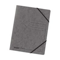 Bild Eckspanner A4 Colorspan - intensiv dunkelgrau, Karton 355 g/qm
