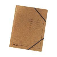 Bild Eckspanner A4 Colorspan - intensiv braun, Karton 355 g/qm