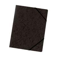 Bild Eckspanner A4 Colorspan - intensiv schwarz, Karton 355 g/qm