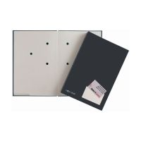 Bild Unterschriftsmappe Color - 20 Fächer, PP kaschiert, schwarz