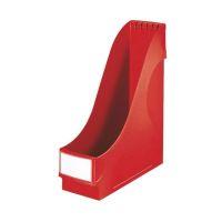 Bild 2425 Stehsammler - extrabreit, A4, Kunststoff, rot