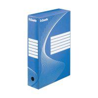 Bild Archiv-Schachtel - DIN A4, Rückenbreite 8 cm, blau