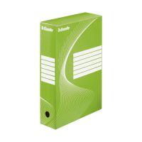 Bild Archiv-Schachtel - DIN A4, Rückenbreite 8 cm, grün