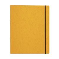Bild Ringbuch Pressspan - A4, 2-Ring, Ring-Ø 16mm, Gummizug, gelb