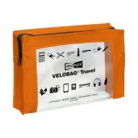 Bild Reißverschlusstasche VELOCOLOR® Travel - PVC, orange, 230 x 160 mm