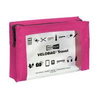 Bild Reißverschlusstasche VELOCOLOR® Travel - PVC, pink, 230 x 160 mm