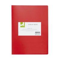 Bild Sichtbuch - 20 Hüllen, Einband PP, 450 mym, rot