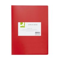 Bild Sichtbuch - 40 Hüllen, Einband PP, 450 mym, rot