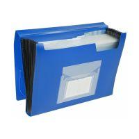 Bild Fächermappe - 13 Taschen, 250 Blatt, PP, blau