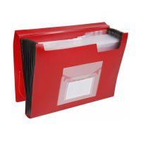 Bild Fächermappe - 13 Taschen, 250 Blatt, PP, rot