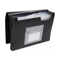 Bild Fächermappe - 13 Taschen, 250 Blatt, PP, schwarz
