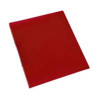 Bild Ringbuch transparent - A4, 2-Ring, Ring-Ø 16 mm, rot-transparent