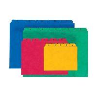 Bild Kartei-Leitregister A - Z - für Größe A5 quer, blau