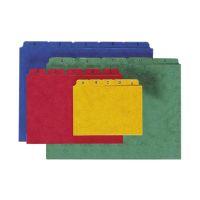 Bild Kartei-Leitregister A - Z - für Größe A6 quer, rot