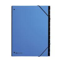 Bild Pultordner Trend - 12 Fächer, Eckspanngummi, hellblau