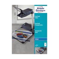 Bild 2502 Overhead-Folien, DIN A4, spezialbeschichtet, stapelverarbeitbar, Stärke: 0,11 mm, 50 Blatt