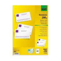 Bild Visitenkarten, microperforiert, satiniert200 g/qm, hochweiß, 600 Stück
