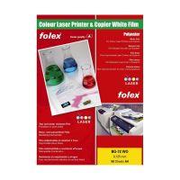 Bild Farbdrucker- und Farbkopiererfolien weiß und klar - A4, 0,125 mm, klar transparent, 50 Folien