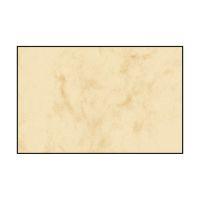 Bild Visitenkarten, 3C, glatter Schnitt rundum, 225 g/qm, beidseitig Marmor beige, 100 Stück