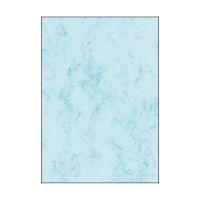 Bild Marmor-Papier, blau, A4, 90 g/qm, 100 Blatt
