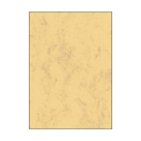 Bild Marmor-Papier, sandbraun, A4, 90 g/qm, 100 Blatt